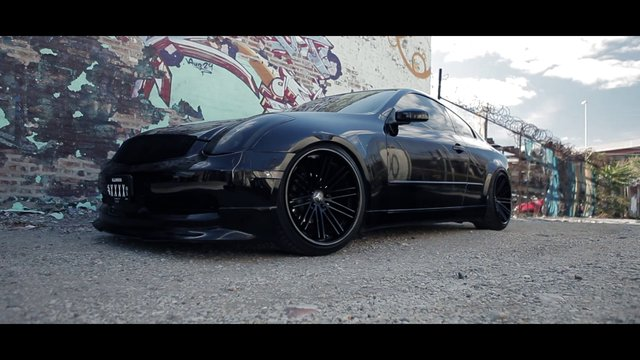 Infiniti G35 with 20x10 and 20x11 Concave RC20!