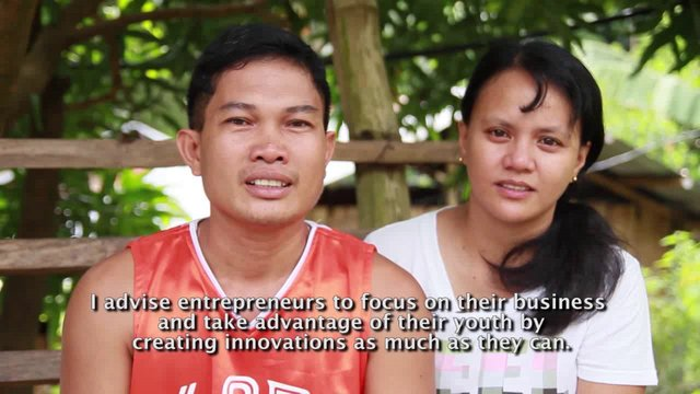 Rommel and Flor Cainglet - MOTY Microentrepreneur of the Year 2012