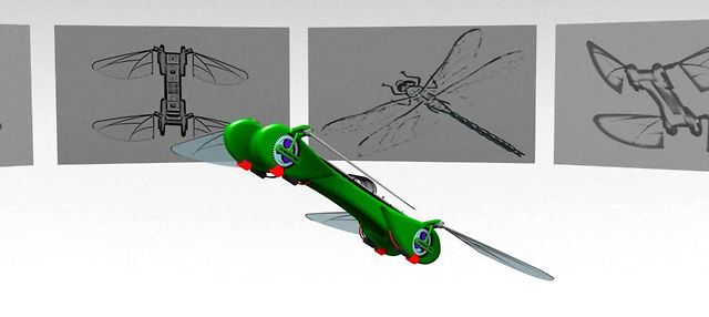The Robot Dragonfly