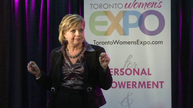 "Sherry Wilson, ""LMI High Performance YOU"", Toronto Women's Expo, Downsview Park, Studio 3"