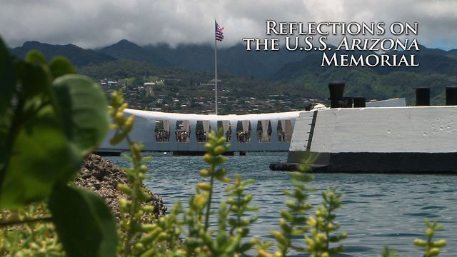 Reflections on the USS Arizona Memorial