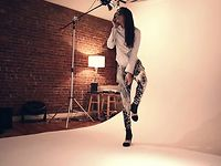 behind the scene video &quot;YANN FERON PHOTOGRAPHY presents ASHLEY CHUNG @ muse&quot;  dec 2012