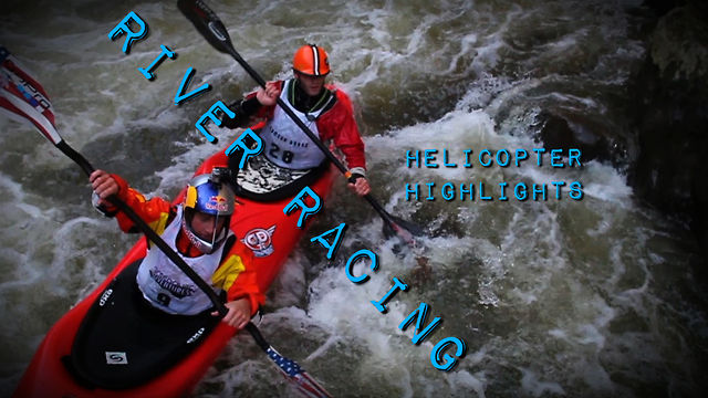 Green Race Whitewater Kayaking Aerials