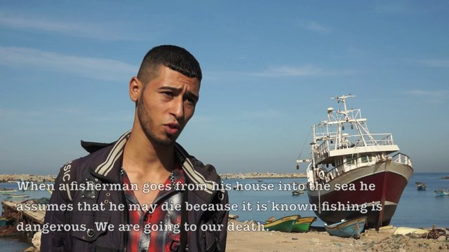 Gaza Fishermen After the Ceasefire