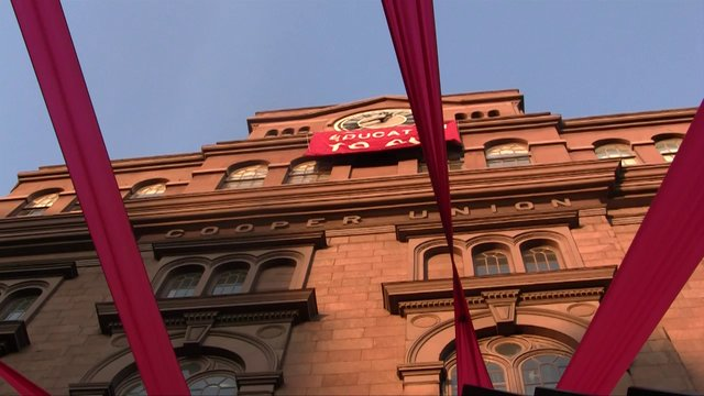 Cooper Union students demand free education