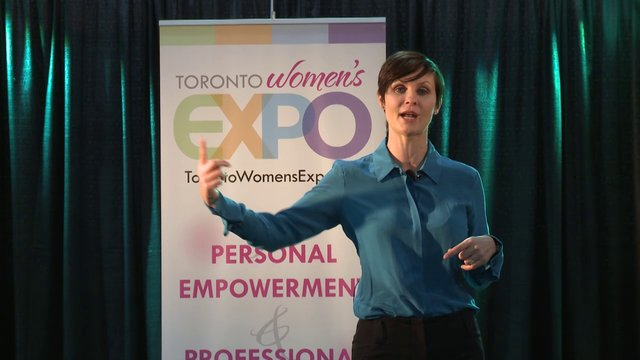 Sophie Boyko, How to Succeed in a Digital Economy, Toronto Women&#039;s Expo, Downsview Park, Studio 3, December 1, 2012