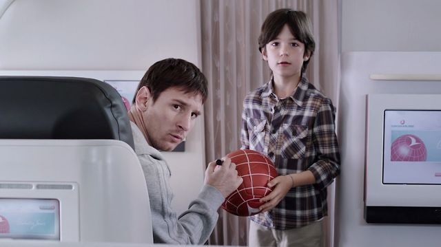 Turkish Airlines - Kobe Messi