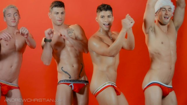 Hunky Santas: The Holiday Card (Uncensored)