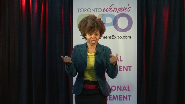 "Tash Jefferies, ""The Importance of Looking (And Being) Successful"", Toronto Women's Expo, Downsview Park, Studio 3"