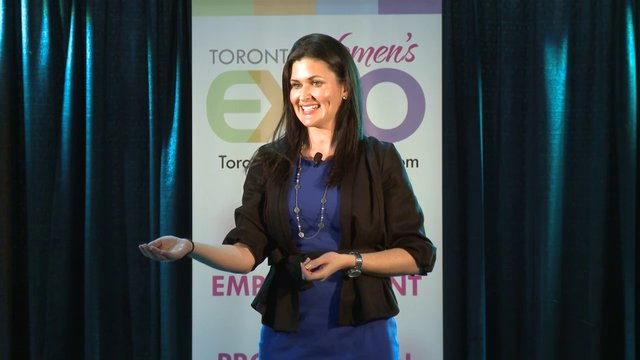 Nicole McCance, &quot;Need a Mood Boost?&quot;, Toronto Women&#039;s Expo, Downsview Park, Studio 3, December 2, 2012