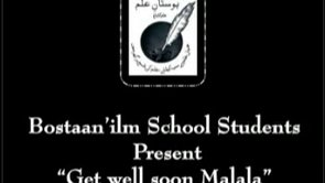 """Get Well Soon Malala"" Song"