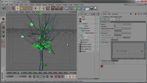 How to create a tree and other branching techniques in x-particles