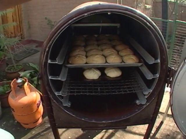 Tierra adentro viendo horno multicombustible for Como hacer un horno de lena de hierro