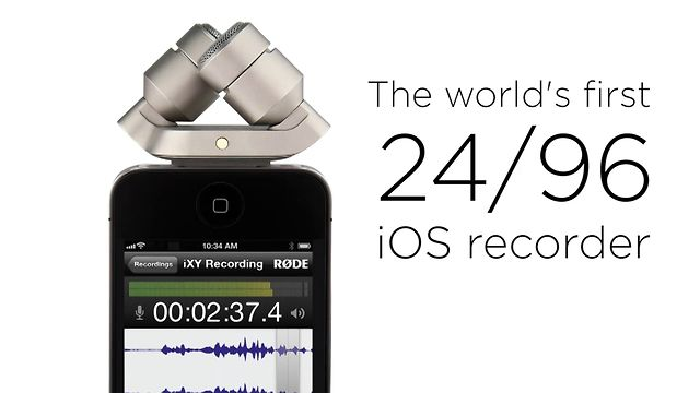Introducing RØDE iXY stereo microphone for iPhone and iPad