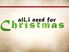 All I Need for Christmas: Mighty God