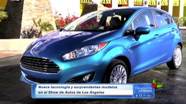 Modelos de autos nuevos para el 2013 y el 2014 desde el auto show de