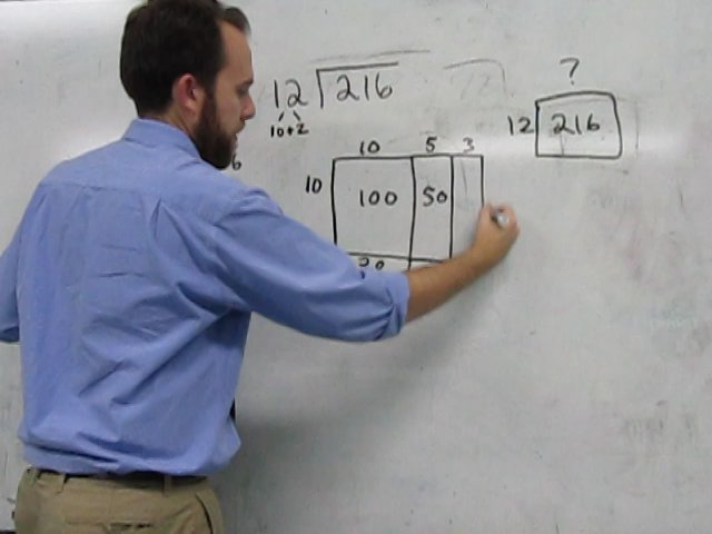 Area Model of Division on Vimeo