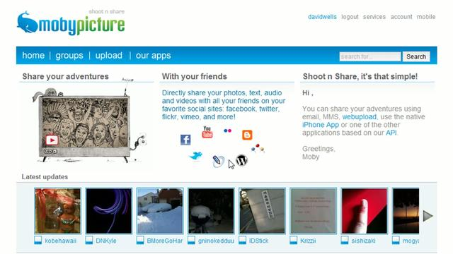 How to update multiple photo sharing sites at once with MobyPicture ...: vimeo.com/8304158