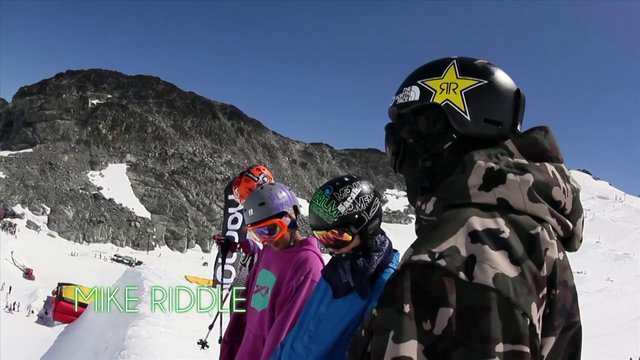 TrickTips - Skiing the Pipe with Mike Riddle