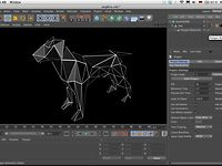 Quick Tip 38: How to create a Wireframe Render with a simple Texture