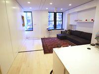 Un micro-appartement de 8 pièces dans 350 pieds carré