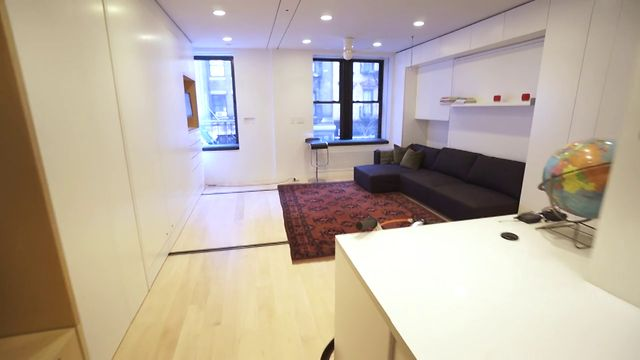 GIZMODO - The Tiny Transforming Apartment That Packs Eight Rooms ...