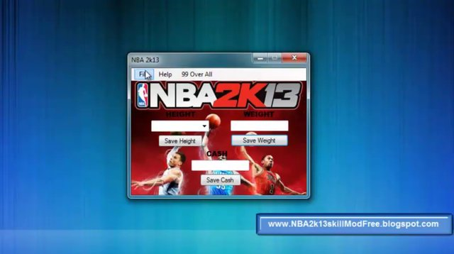 How To Mod NBA 2k13 (My Player Unlimited Skill Points) Tutorial
