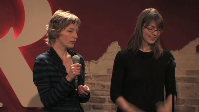 Brechtje en Floor @ Stand Up Inspiration