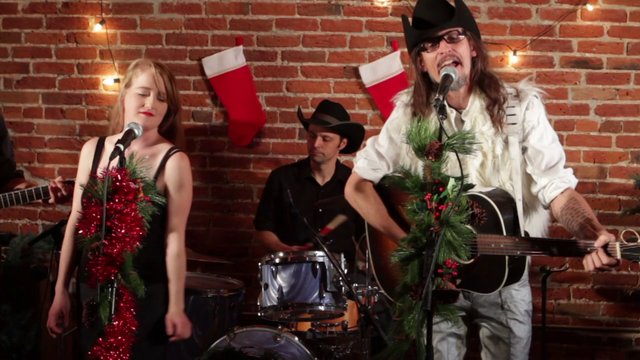 Happy Holidays from Audiovore!! Featuring Halden Wofford and the Hi-Beams, singing 'Christmas Stuffin'""