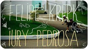Longboarding Felipe Krepk e Iury Pedrosa - BALIAN Sliding KIDS JF