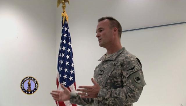 H Co 171st Avn Regiment Change of Command, Robins AFB, GA [Part 3a]