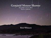 Geminid Meteor Shower 2012