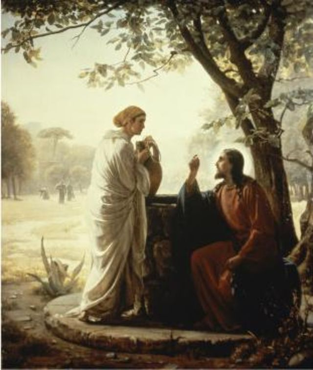 8. The Samaritan woman