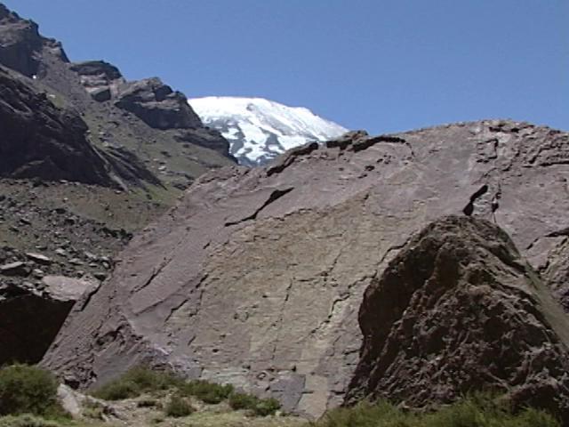 El hallazgo más importante de ictiosauros (Ichthyosauria) se hizo en las cercanías del Glaciar Tindall en Torres del Paine