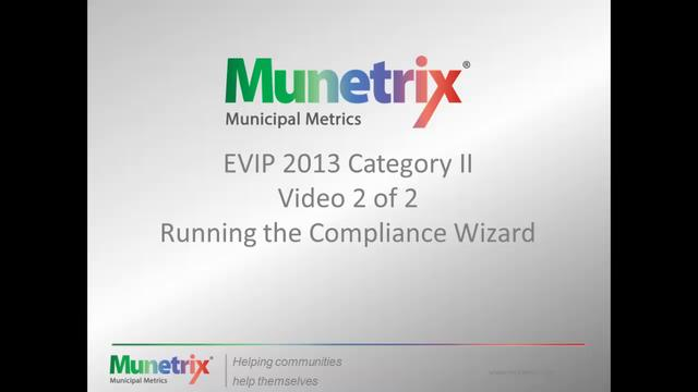 Creating Your Compliance Packet for EVIP Category II
