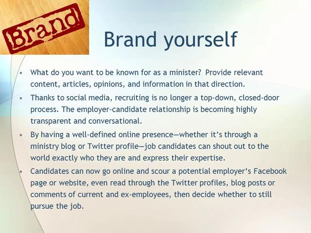How to Use Social Media to Find Your Next Ministry Position | John Roland