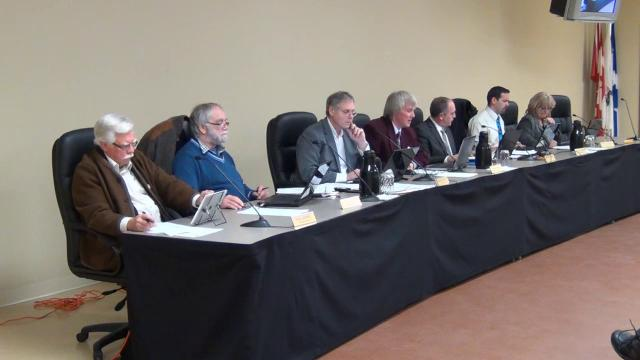 Conseil de ville de Saint-Donat 10 décembre 2012