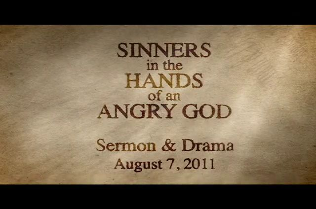 essay of sinners in the hands of an angry god