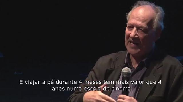 Aula Magna: WERNER HERZOG (Festival de Cinema 4+1, 22/11/2012) V.O.L. português