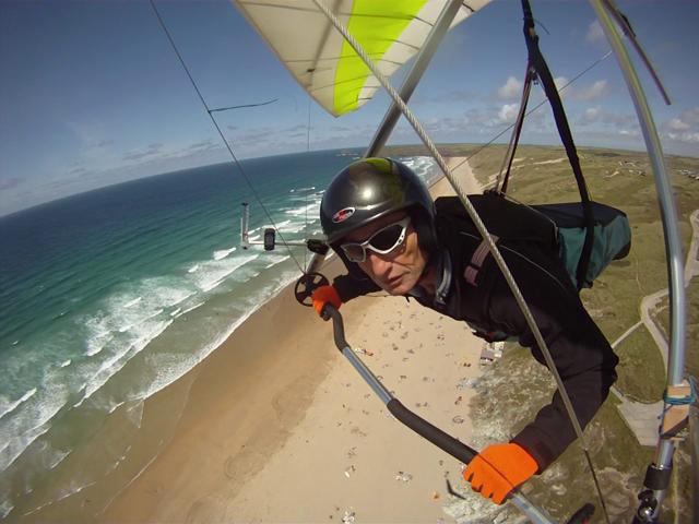 Perranporth  Hang Gliding