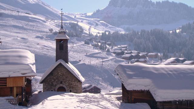 Teaser le grand bornand hiver winter on vimeo - Office du tourisme le grand bornand village ...