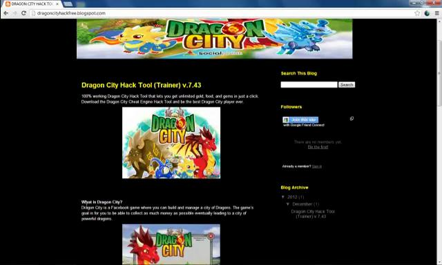 Dragon City Cheats + Hack Tool Download Now!
