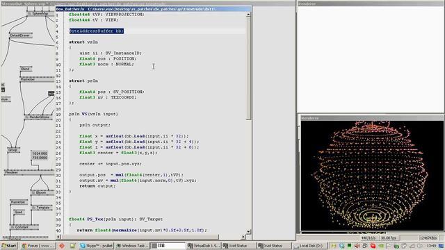 VVVV DirectX 11 StreamOut tutorial [Part 2]