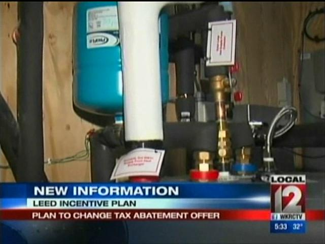 City's LEED home changes, WKRC Ch 12, Dec. 16th, 2012