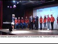 """Auditorium comunale gremito per """"Il Concerto per la Pace"""""""