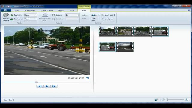 how to use movie maker 2012