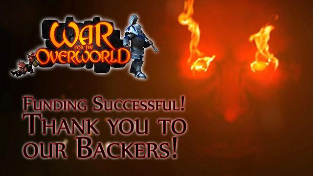 War For The Overworld - Kickstarter Teaser