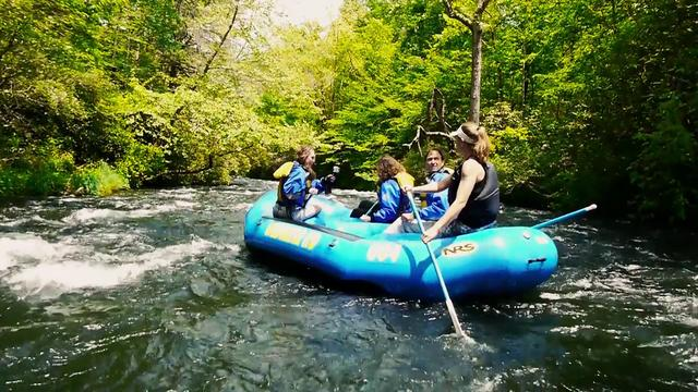 Nantahala Byway: Rafting the Nantahala River