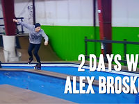 """CREATE ORIGINALS™ Pro team rider Alex Broskow recently visited the C.O. headquarters in Boston to work on an upcoming project. While he was here we ventured to RAD skatepark in Mendon, MA and Rye Airfield skatepark in Rye, New Hampshire when the weather wasn't feasible for street skating. Here is what went down on those """"2 Days In December"""" 2012. Also featuring a few clips from C.O. Am team rider Mark Wojda, who just moved into his new apartment in Boston, and is here to stay."""