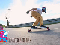 Flying Traction Beams